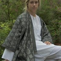 28 Ikat Kimono