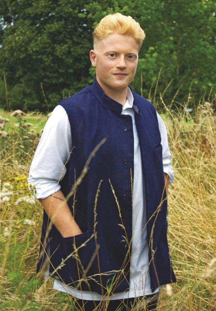 Khadi wool waistcoat